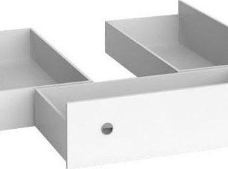 BRW Zásuvky k posteli Nepo LOZ3S Bílé