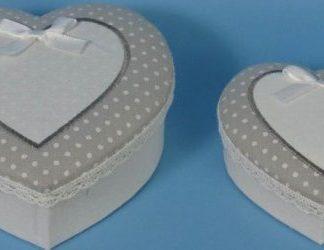 Autronic Krabička srdce sada 2 ks - ARD744809