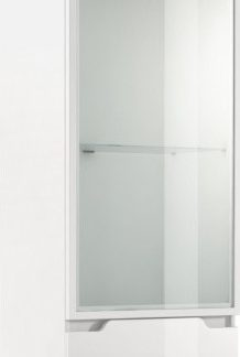 Tempo Kondela Závěsná vitrína ADONIS AS 08 + kupón KONDELA10 na okamžitou slevu 3% (kupón uplatníte v košíku)