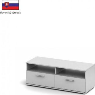 Tempo Kondela RTV stolek Singa 12 - bílý + kupón KONDELA10 na okamžitou slevu 3% (kupón uplatníte v košíku)