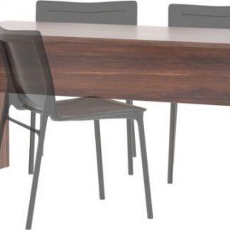 Tempo Kondela Kancelářský stůl oboustranný JOHAN NEW 08 - švestka + kupón KONDELA10 na okamžitou slevu 3% (kupón uplatníte v košíku)