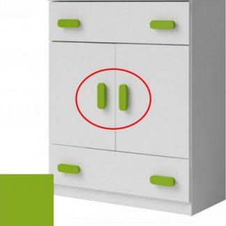 Tempo Kondela Úchytka SVEND - zelená + kupón KONDELA10 na okamžitou slevu 3% (kupón uplatníte v košíku)