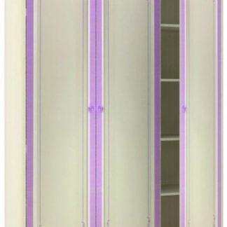 Lubidom Skříň 3-dveřová Markýza - alabastr