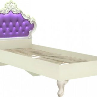Lubidom Dětská postel Markýza 120x200 - alabastr