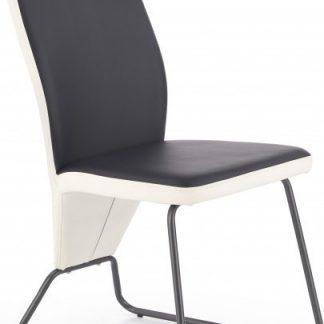 Halmar Jídelní židle K-300 bílá/šedá