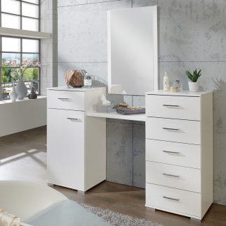 Casarredo Toaletní stolek se zrcadlem PAMELA 310 alpská bílá