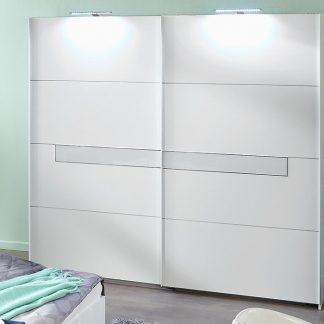 Casarredo Šatní skříň s posuv. dveřmi PAMELA 862 alpská bílá