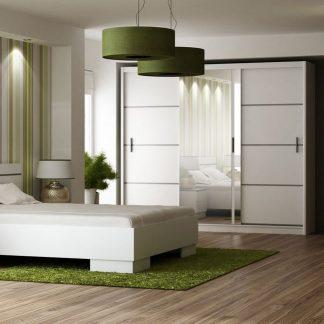 Casarredo Ložnice VISTA bílá (postel 160
