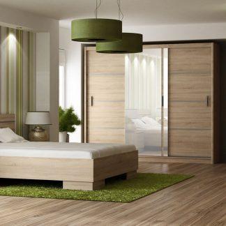 Casarredo Ložnice VISTA sonoma (postel 160