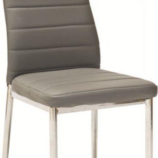 Casarredo Jídelní čalouněná židle H-261 šedá