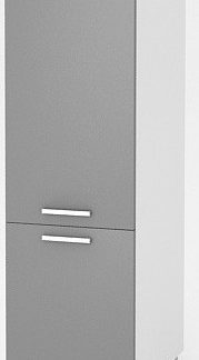 Falco Vysoká kuchyňská skříňka Natanya SL bílý lesk