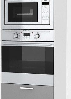 Falco Vysoká kuchyňská skříňka Natanya SP šedý lesk