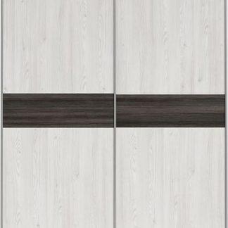 BRW Šatní skříň Salins SZF/153 - modřín sibiu světlý/borovice larico