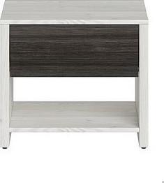 BRW Noční stolek Salins KOM1S - modřín sibiu světlý