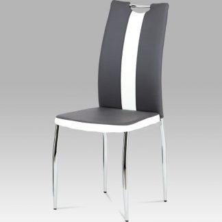 Autronic Jídelní židle AC-2202 GREY