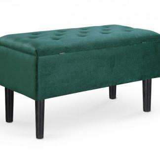 Halmar Taburet Cleo - tmavě zelený