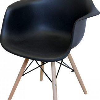 Idea Jídelní židle DUO černá
