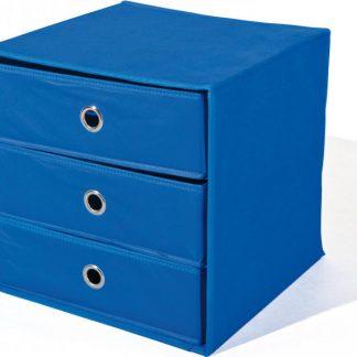 Idea Skládací box WILLY modrý