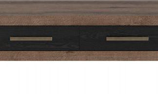 BRW Konferenční stolek BALIN LAW2S/ - dub monastery/dub černý