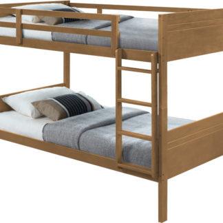 Tempo Kondela Patrová postel MAKIRA - dub + kupón KONDELA10 na okamžitou slevu 3% (kupón uplatníte v košíku)