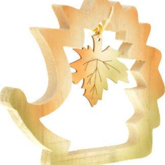 Autronic Ježek dřevěný dekorační KLA279