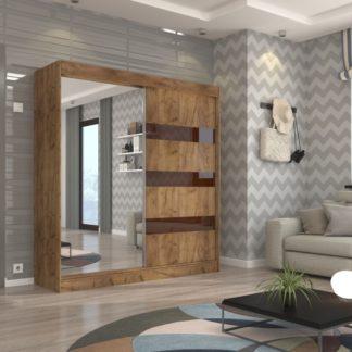 Šatní skříň s posuvnými dveřmi Granada 200 cm