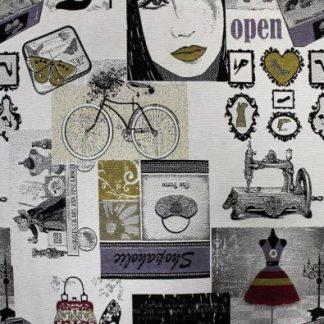 Clipet Látka Chicones Bike C/10