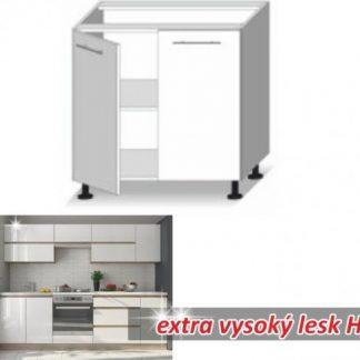 Tempo Kondela Kuchyňská skříňka LINE WHITE D + kupón KONDELA10 na okamžitou slevu 3% (kupón uplatníte v košíku)