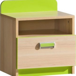 Tempo Kondela Noční stolek EGO L12 - zelená + kupón KONDELA10 na okamžitou slevu 3% (kupón uplatníte v košíku)