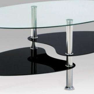Autronic Konferenční oválný stolek GCT-302 GBK1