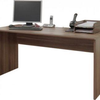 Tempo Kondela Kancelářský stůl JOHAN 01 - švestka + kupón KONDELA10 na okamžitou slevu 3% (kupón uplatníte v košíku)