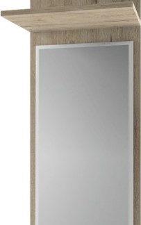 Tempo Kondela Panel se zrcadlem Orestes  - dub san remo + kupón KONDELA10 na okamžitou slevu 3% (kupón uplatníte v košíku)