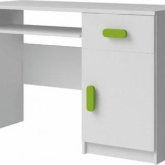 Tempo Kondela PC stůl SVEND TYP 8 - bílá + kupón KONDELA10 na okamžitou slevu 3% (kupón uplatníte v košíku)