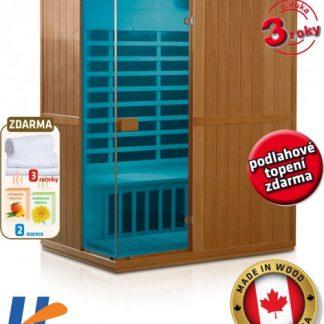 V-Garden Infrasauna DeLuxe 3300 Carbon - BT