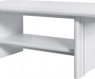 BRW Konferenční stolek Idento LAW - Bílá