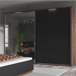 Tempo Kondela Dřevěný rám s LED osvětlením ke skříni DEGAS + kupón KONDELA10 na okamžitou slevu 3% (kupón uplatníte v košíku)