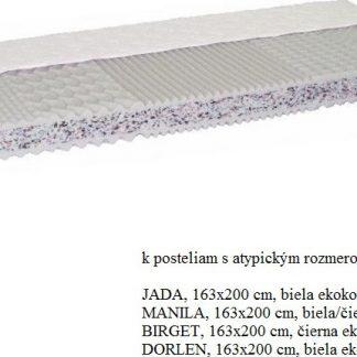 Tempo Kondela Matrace CATANIA ECO ATYP 163x200cm + kupón KONDELA10 na okamžitou slevu 3% (kupón uplatníte v košíku)