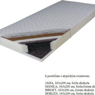 Tempo Kondela Matrace KOKOS MEDIUM 163x200 pružinová + kupón KONDELA10 na okamžitou slevu 3% (kupón uplatníte v košíku)