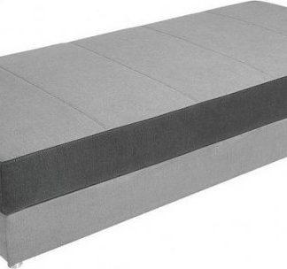 BRW Postel Pepe 90 cm - Světle šedá barva