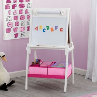 Forclaire Dětská dřevěná tabule bílá