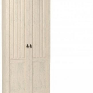 Lubidom Šatní skříň 2-dvéřová Amelie - bílá provence