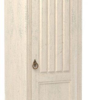 Lubidom Skříň 1-dvěřová Amelie do obývacího pokoje a předsíně - bílá provence