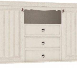 Lubidom Komoda Amelie (ložnice) - bíla provence