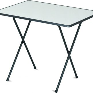 Rojaplast Kempingový stůl 60x80 SEVELIT - antracit/bílá