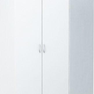 Casarredo Rohová šatní skříň ALEX bílá