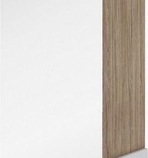 Casarredo Šatní skříň se zrcadlem k předsíni CLARO ořech barcelona