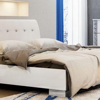 Casarredo Postel PALERMO 160x200 cm bílá