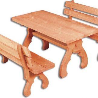 Casarredo OM-106 zahradní sestava ( 1 x stůl + 2 x lavice )