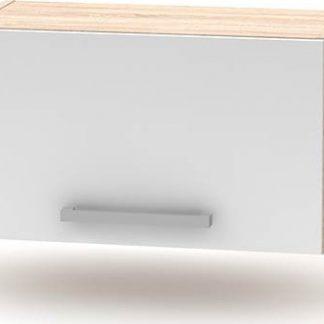 Tempo Kondela Horní digestořová skříňka 1DV NOPL-011-OH - dub sonoma / bílá + kupón KONDELA10 na okamžitou slevu 3% (kupón uplatníte v košíku)