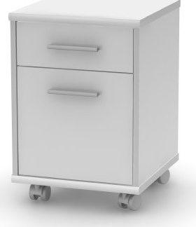 Tempo Kondela Kancelářský kontejner JOHAN NEW 07 - bílý + kupón KONDELA10 na okamžitou slevu 3% (kupón uplatníte v košíku)